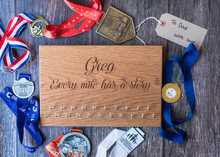 Personalised Medal Display Boards