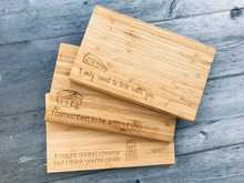 Mini Bamboo Chopping Boards
