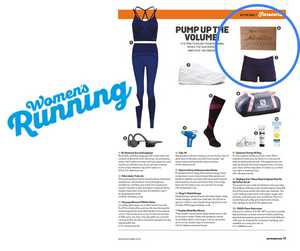 Our Medal Hangers featured in Women's Running Magazine!