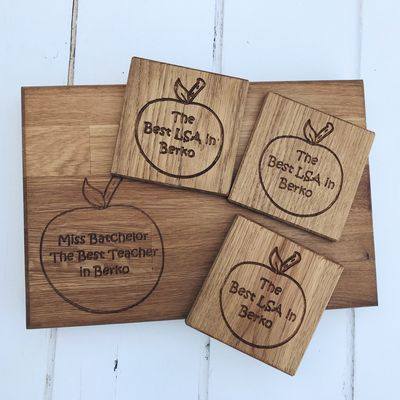 best teacher coasters and chopping board.JPG