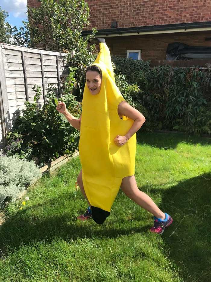 Me in my banana suit!