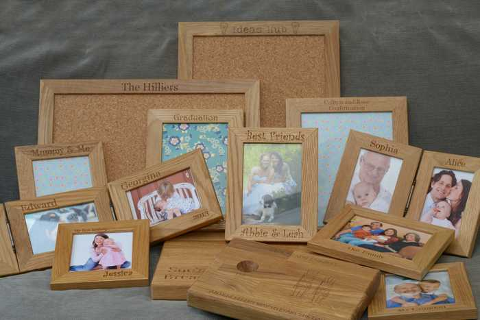 personalised wood 5th anniversary gifts