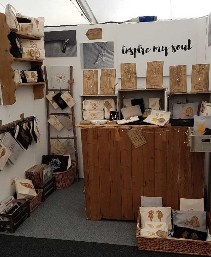 A selection of beautiful products from Karen Rosser at Inspire My Soul