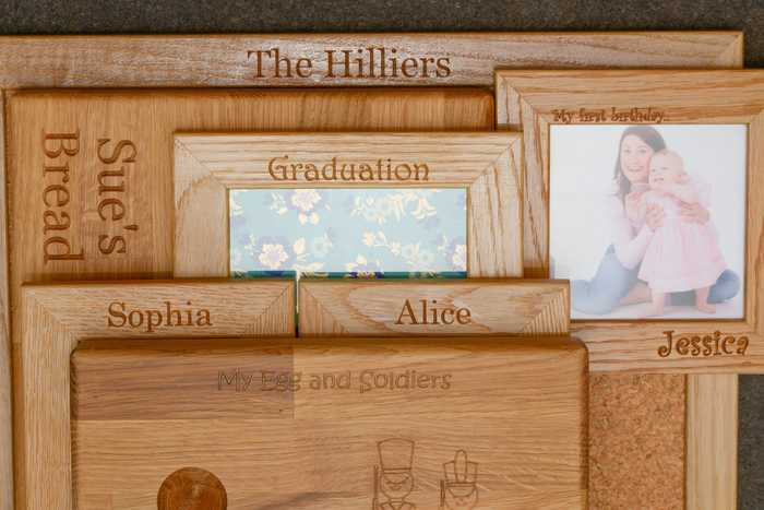 personalised engraved wood gift ideas